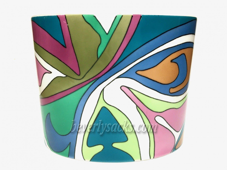 Emilio Pucci Rosenthal Studio Line Porcelain Vase Beverly Sacks